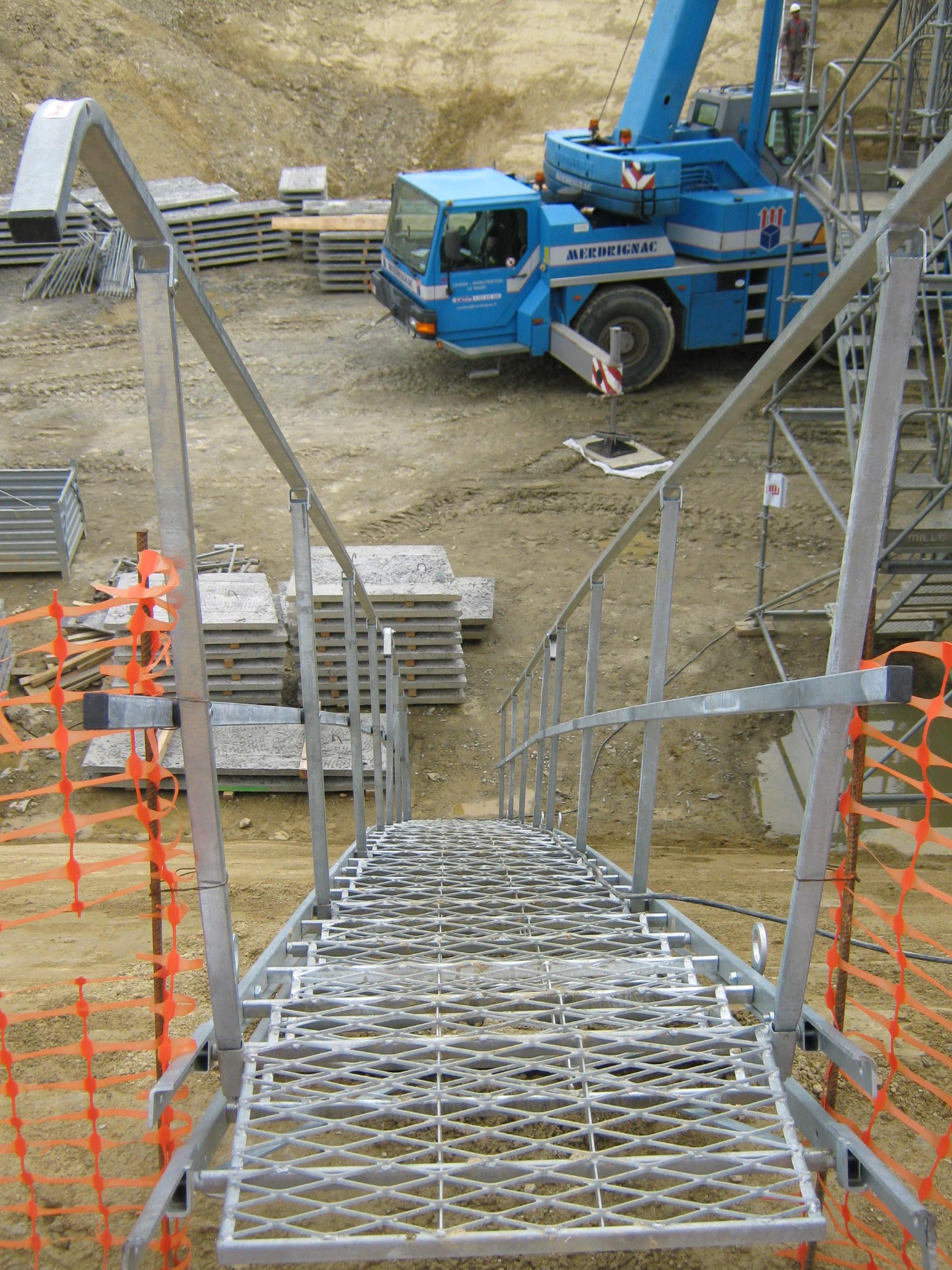 Escalier Modulaire Pas Cher escalier de chantier modulaire prévention btp