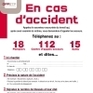 Gestion de l'accident