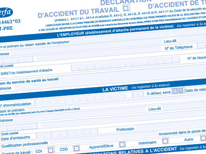 les accidents de travail pdf