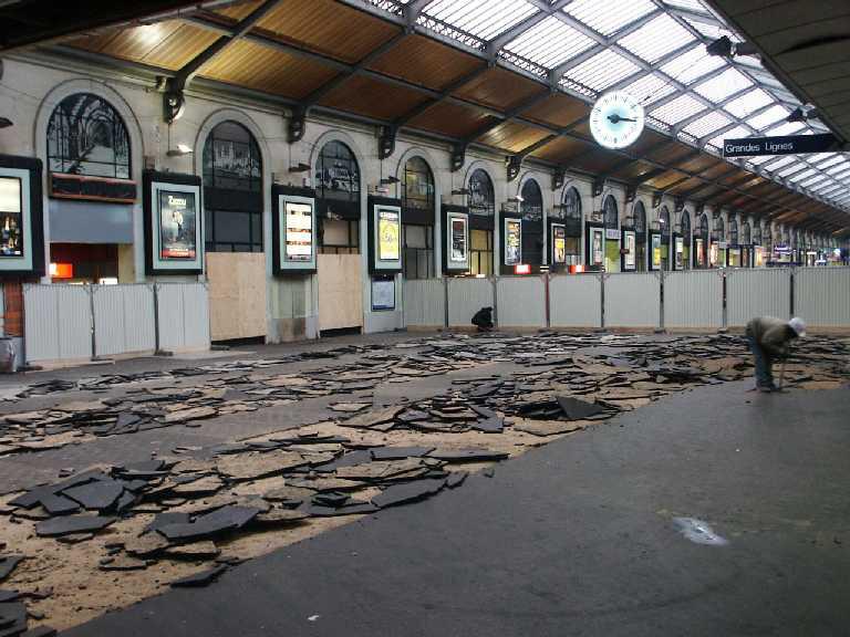 Les Travaux De La Gare Saint Saint Lazare En Bonne Voie